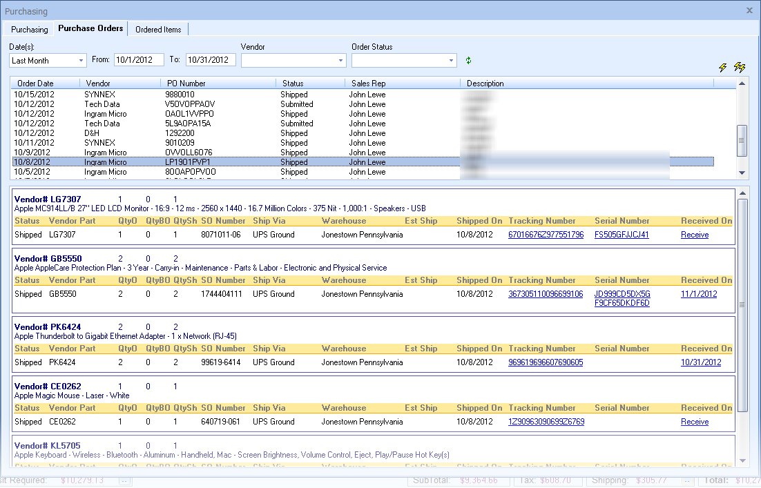 purchase order tracker Then once i fill in that information i can print it, and it will track spending by dept quote reply re: creating and tracking a simple purchase order in excel [baxnelly] [ in reply to ].