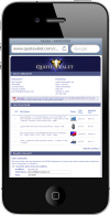 QuoteValet - Online Quote Delivery and Acceptance Vehicle. This can be used on smart phones like iPhone, Droid, and Blackberry