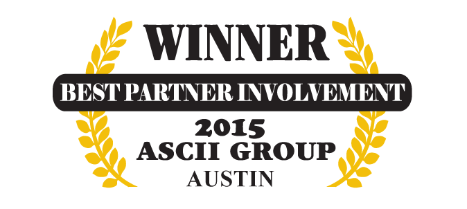 QuoteWerks was honored to be awarded Best Partner Involvement at ASCII Austin