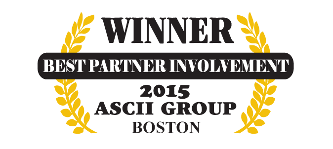 QuoteWerks was honored to be awarded Best Partner Involvement at ASCII Boston