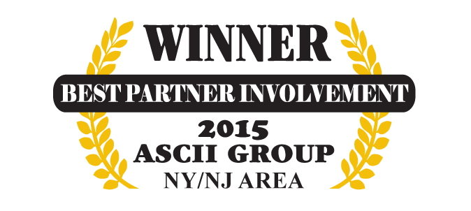QuoteWerks was honored to be awarded Best Partner Involvement at ASCII NJ