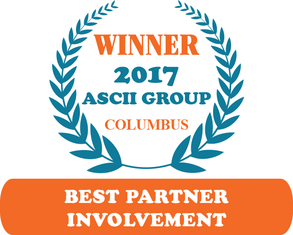 QuoteWerks was honored to be awarded Best Partner Involvement at ASCII Columbus 2017