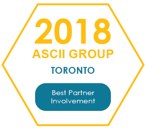 QuoteWerks was honored to be awarded Best Partner Involvement at Toronto 2018