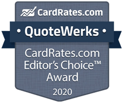 CardRates.com Recognizes QuoteWerks with Editors Choice Award - 2020