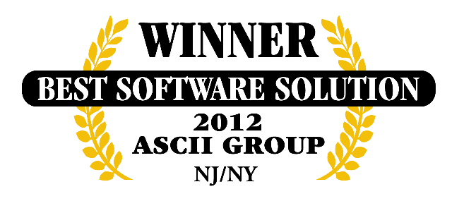 QuoteWerks was honored to be awarded Best Software at ASCII NJ/NY