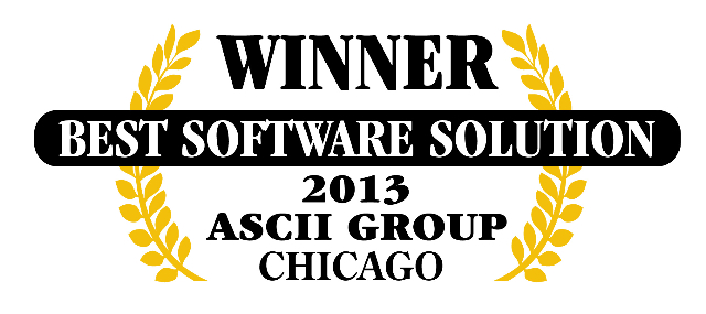 QuoteWerks was honored to be awarded Best Software at ASCII Chicago