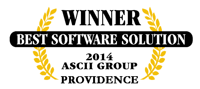 QuoteWerks was honored to be awarded Best Software at ASCII Providence