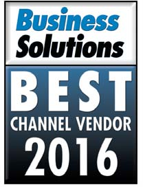 QuoteWerks CPQ wins Best Channel Vendor - Quoting Solution - Proposals and Estimates (CPQ) - Business Solutions Magazine 2016